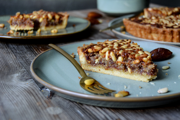 Pine Nut and Date Tart