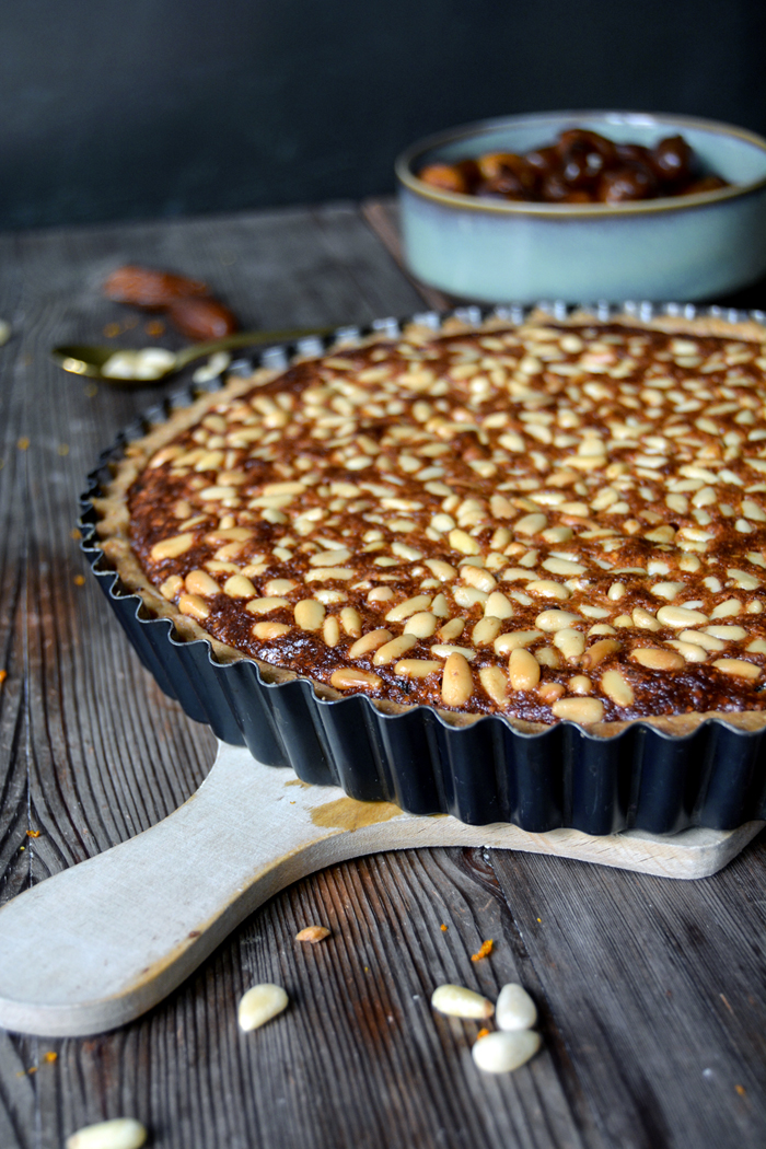 Provençal Pine Nut, Date, and Honey Tart - eat in my ...