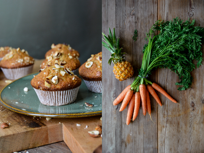 Carrot Pineapple Muffin