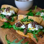 Mozzarella di Bufala and Olive Tapenade Sandwich with Preserved Lemon