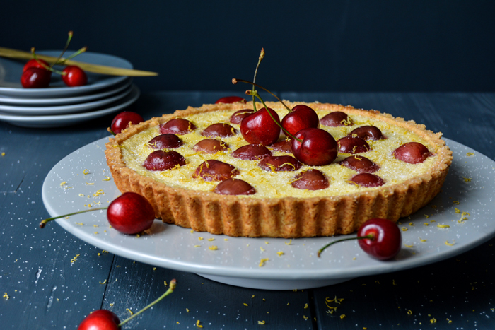 Cherry Lemon Tart