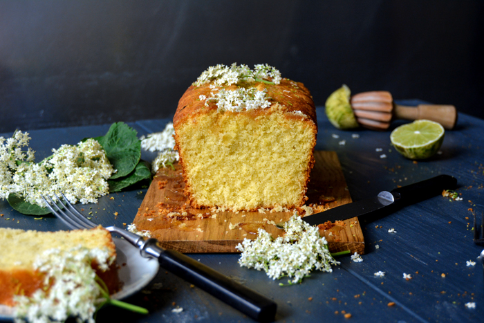 Elderflower Lime Cake