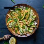 Avocado, Melon and Fennel Salad
