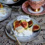Italian Meringue with Honey Mascarpone and Figs