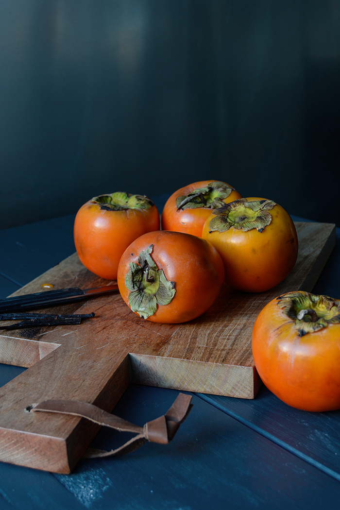 Persimmon Hazelnut Thumbprint Cookies