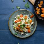 Feta and Fennel Barley with Caramelized Kumquats
