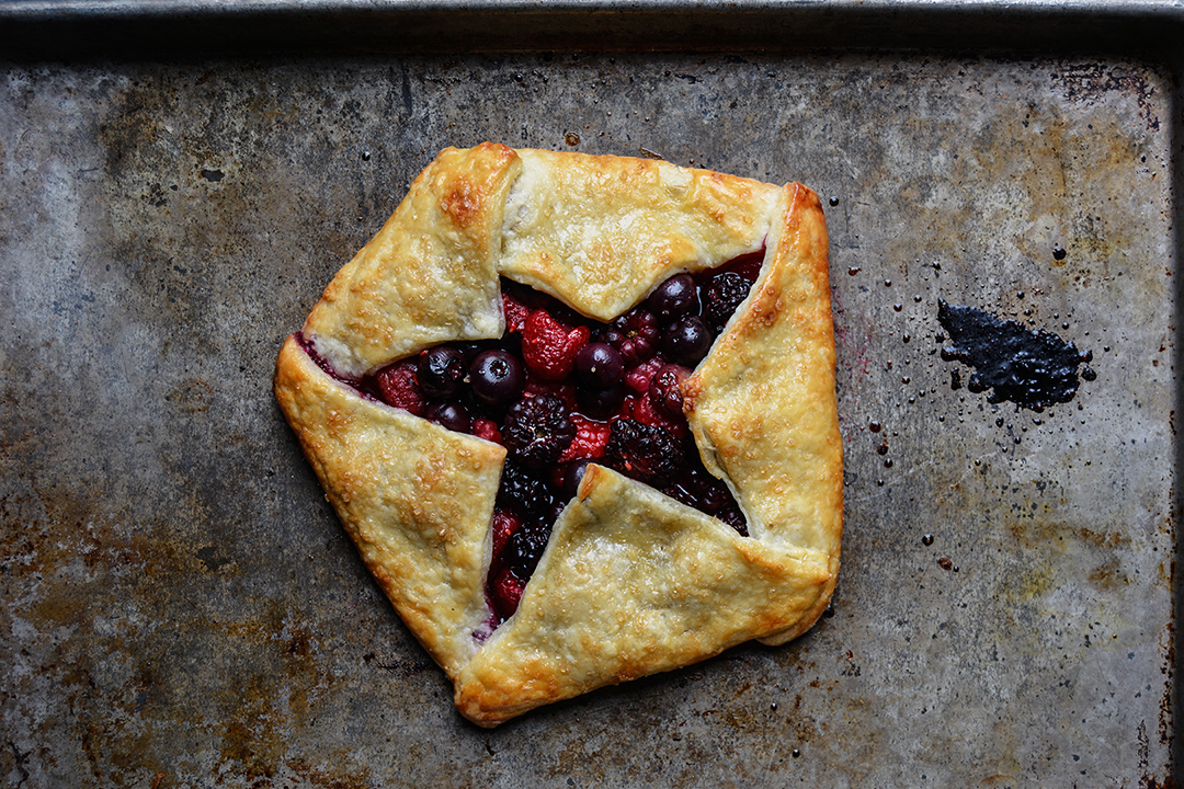 Smitten Kitchen's Berry Ricotta Galette
